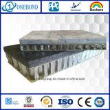 De openlucht Bekleding van de Muur voor het Comité van de Honingraat van het Aluminium van de Steen