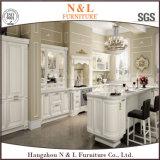 N&Lによっては家具白いカラーシェーカーの純木の食器棚が家へ帰る