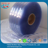Energy Saving Blue double ones rib bed plastic PVC Curtain by strips
