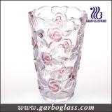 Vase en verre à décoration d'or (GB1505XWH-DSD)