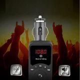 Des MP3-drahtloses Bluetooth Freisprechauto-Audioempfänger-Adapter auto-Installationssatz-FM des Übermittler-3.1A Bluetooth mit entfernter Station