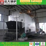 Facili Burning di gomma di alta efficienza di uso 6ton di industria della costruzione della tessile di prodotto chimico alimentare buoni gestiscono la caldaia a vapore infornata carbone