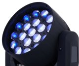 19X10W RGBW 4in1 Zoom LED Déplacement de la tête de lavage