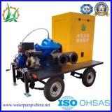 Abfall-Dieselmotor-entwässernder aufgeteilter Kasten-Wasser-Pumpen-Schlussteil