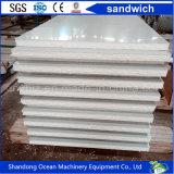 Preiswerter Preis des Panels des Polystyren-Schaumgummi-Sandwichwand-Panel-ENV, das von gewölbtem Stahlblech PPGI gebildet wurde, erstellte Stahlblech-Farbe beschichtetes Stahlblech ein Profil