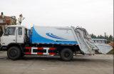 12mt 4X2 Dongfeng 폐기물 쓰레기 압축 분쇄기 쓰레기 트럭