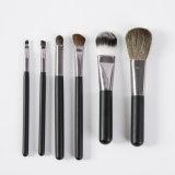 Nouvelle poignée noire 6PCS Brosse de maquillage pour marque privée