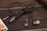 auricular atado con alambre de alta fidelidad de Earbuds del auricular del en-Oído de 3.5m m para el iPhone de Samsung