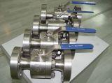 API 6D F51 flanschte Drehzapfen-Kugelventil