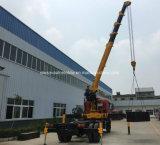 La gru telescopica di Dongfeng 4X2 ha montato su 10 tonnellate di camion del carico