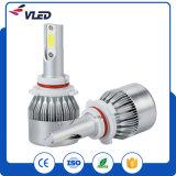 Farol H7 H1 H3 H8 H11 9005 do diodo emissor de luz do farol C6 do carro dos bulbos 36W 3800lm 6000k do diodo emissor de luz do carro 9006 9012 para