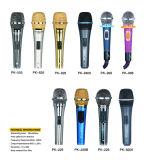 Microphone de condensateur de fil le meilleur marché pour KTV