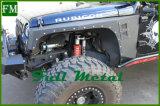 O pára-choque do corpo da armadura das rodas da porta do Wrangler 2/4 alarga-se para o jipe