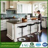Countertop кварца темного Brown оптовых продаж для кухни и ванной комнаты