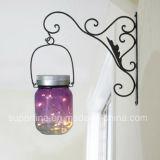 Célébration du festival Jardin suspendu Metal Net Glass Jar Produits d'éclairage