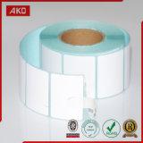 Position de Rolls de papier thermosensible pour le constructeur sur un seul point de vente