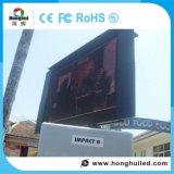 Energiesparende LED-videowand im Freienled-Bildschirmanzeige