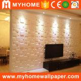 Muur van de van achtergrond TV Raad 1mm van de Muur Decoratieve Comité van de Muur van de Dikte van pvc 3D In reliëf gemaakte