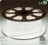 Flexibles LED Streifen-Licht der Leistungs-230V SMD 5050