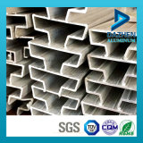 MDF Slatwall를 위한 알루미늄 단면도 6063 T5 삽입
