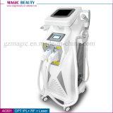 A0301 Wholsale 4 en 1 máquina del retiro del pelo del laser de Elight IPL con el enfriamiento de la piel Tghtening del RF