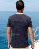 t-셔츠 폴리에스테 빠른 건조한 적당 근육 남자 t-셔츠