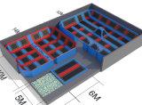 داخليّة رياضيّة [ترمبولين] متنزّه مع صنع وفقا لطلب الزّبون حجم