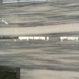 Azulejo gris Polished de la losa de Venica, azulejo de mármol para la pared