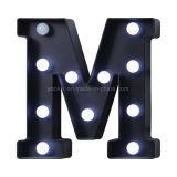 Van het Huis van de Brieven van de leiden- Markttent Decoratieve Lichte 26 Alphabat leiden- Brieven