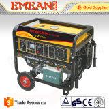 5 kW eléctricos grupos electrógenos portátiles de gasolina