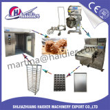 Linha de produção dura e macia automática pequena industrial do biscoito
