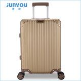 Projeto novo 20 da boa qualidade de Junyou 24 bagagens de alumínio da mala de viagem do curso do frame da polegada
