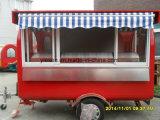 Carro móvil del alimento del acoplado del alimento que cocina el acoplado