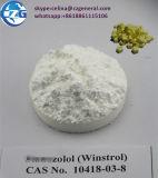 Culturisme oral anabolique stéroïde cru Winstrol de poudre de pureté de 99%