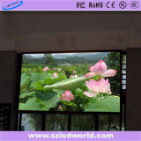 Tarjeta a todo color de alquiler de interior de la pantalla de visualización de LED para hacer publicidad (cabina de P3, de P6 576X576)