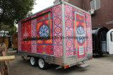 Caminhão móvel do alimento da alta qualidade
