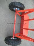 Fabricación de China de la alta calidad de carro de mano Ht1819/de carretilla de la mano