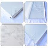 Tuiles commerciales en aluminium décoratives du plafond 600*600