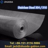 Maglia tessuta dello schermo dell'acciaio inossidabile 316 di premio 304 della Cina