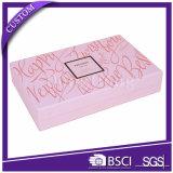 Cmykは贅沢なボール紙の装飾的な紙箱のギフト用の箱包装ボックスを印刷した