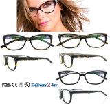 Marcos ópticos del acetato de las lentes italianas hechas a mano de Eyewear