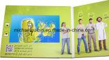 Tarjeta de felicitación video de la pantalla del LCD 10inch como regalo promocional (VC-100)