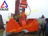 Os chineses manufaturam para a cubeta hidráulica da máquina escavadora da garra da parte superior para a venda