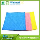 Del verde paño no tejido de la protección del medio ambiente de la contaminación no, paño del color de la cocina