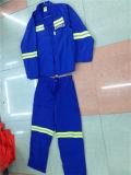 2PCS de lange Weerspiegelende Kleding Vastgestelde Unisex-Workwear van de Veiligheid van de Koker