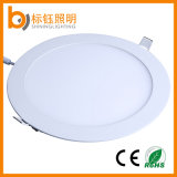 300*300mm Recessed Round High Power 24W LED Panel Aluminum AC85-265V