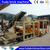Bloc concret de construction du coût bas Qt4-25 faisant la machine