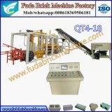 Completamente máquina de fatura de tijolo Qt4-18 contínuo automática