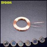 Qi ultra-mince recevant l'élément de bobine pour le pouvoir sans fil