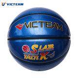 Сликовый поверхностный голубой изготовленный на заказ лоснистый глянцеватый баскетбол